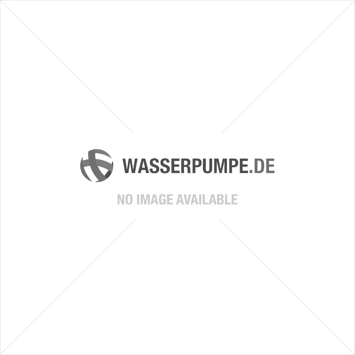 """PE Klemmverschluss Kniestück 90º 25 mm – 1"""" (Außengewinde)"""