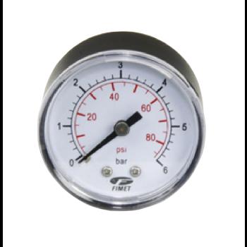 "Manometer 0-6 Bar - Anschluss hinterseite 1/4"""